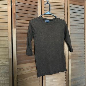 Michael Stars Tops - Cute brown stretchy skinny shirt!